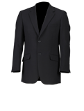 Black Short Oxford Jacket Suit