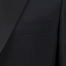 Black Single Breasted Suit Dinner Jacket