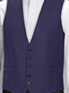 Ben Sherman Navy High Button - Available From 18th April 2018 Waistcoat