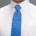 Blue Mod Spot Tie - Available From 18th April 2018 Tie