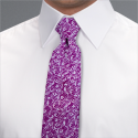 Pink Romford Floral Tie - Available From 18th April 2018 Tie