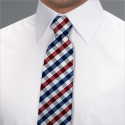 Red House Gingham Tie