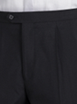 Black with Side Stripe Dinner Trousers