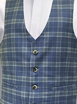 Henry Airforce Blue Waistcoat