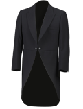 Black Tailcoat Suit