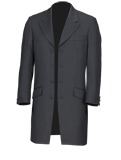 Slate Grey Prince Edward Suit
