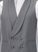 Grey St Albans Double Breasted Waistcoat