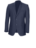 Blue Slim Fit Jacket